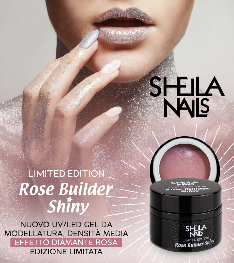 Nuovo Gel Diamantato ROSE BUILDER SHINY!