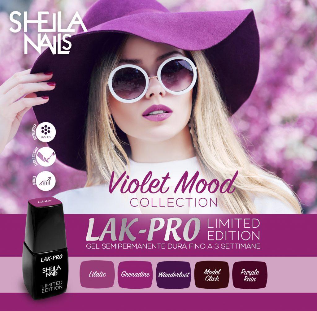 """""""Violet Mood"""" Collection - LAK-PRO"""